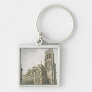 Exterior of the Church of St Severin Paris Keychains