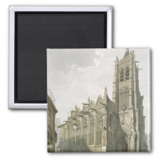 Exterior of the Church of St. Severin, Paris Magnets