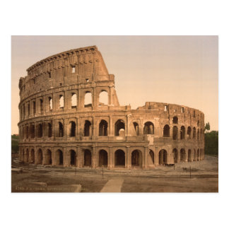 Exterior of the Colosseum Rome Italy Post Cards