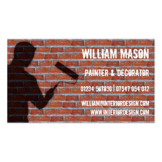 Exterior Painter and Decorator - Business Card