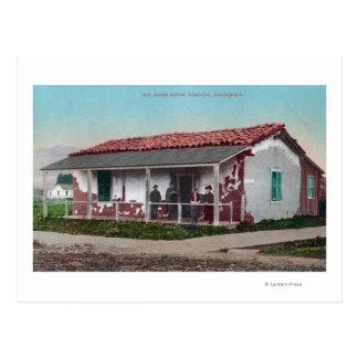 Exterior View of an Old Adobe HomeVentura, CA Postcard