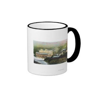 Exterior View of Electric Power Plant Mugs