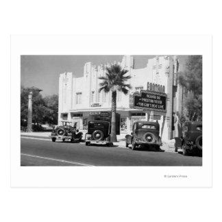 Exterior View of Fontana Theatre Postcard