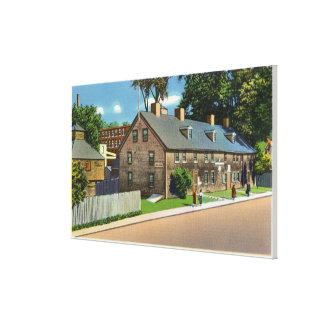Exterior View of Ft. Western and Block Houses # Canvas Prints