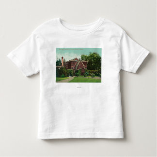 Exterior View of Hearst Hall, U of CA Toddler T-Shirt
