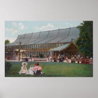 Exterior View of Idora Park Skating Rink Poster