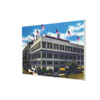Exterior View of Madison Square Garden Gallery Wrap Canvas