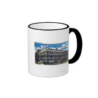 Exterior View of Madison Square Garden Mugs