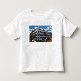 Exterior View of Madison Square Garden Toddler T-Shirt