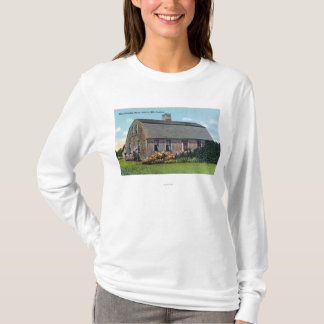 Exterior View of Myles Standish House T-Shirt