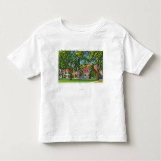 Exterior View of St. Mark's Church and Rectory Toddler T-Shirt