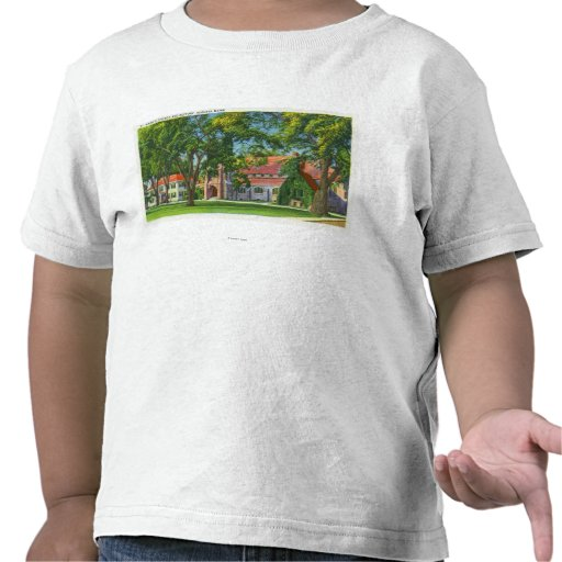 Exterior View of St. Mark's Church and Rectory T Shirt
