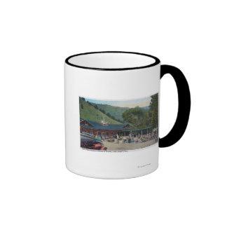 Exterior View of Sutparich Resort Main Bldg Coffee Mugs