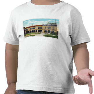 Exterior View of the Art Museum T-shirts