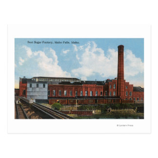 Exterior View of the Beet Sugar Factory Postcard