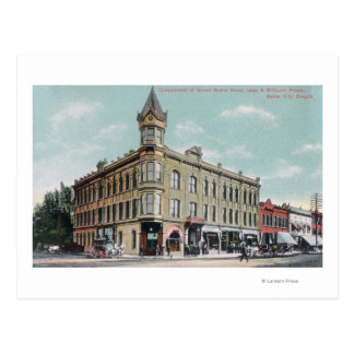 Exterior View of the Geiser Grand Hotel Postcard