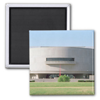 Exterior view of the Hirshhorn Museum, 1974 ) Magnet