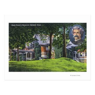 Exterior View of the Mark Twain Memorial # 2 Postcard