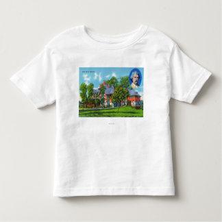 Exterior View of the Mark Twain Memorial Toddler T-Shirt