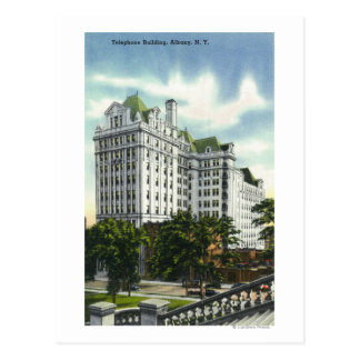 Exterior View of the Telephone Building # 2 Postcard