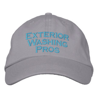 Exterior Washing Pros Embroidered Hat