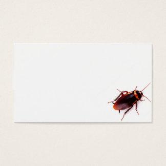 Exterminator Business Cards (Cockroach)