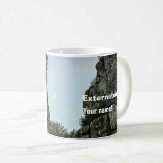 Externsteine in twilight 2.2.(P) Coffee Mug
