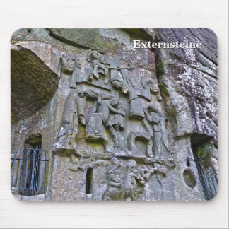 Externsteine, stone carving 002.02 mouse pad