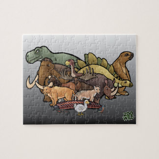 Extinct Animals - Jigsaw Puzzle