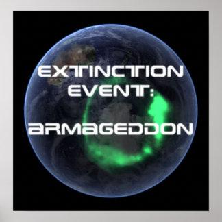 Extinction Event Armageddon Poster