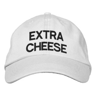 Extra Cheese Embroidered Hat