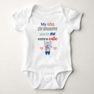 Extra Chromosome, Extra Cute Cat Baby Bodysuit