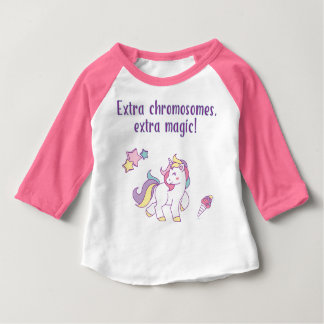 Extra Chromosome Magic Unicorn Baby T-Shirt