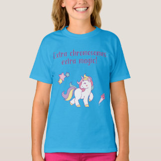 Extra Chromosome Magic Unicorn T-Shirt