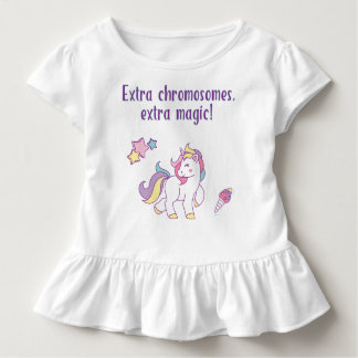 Extra Chromosome Magic Unicorn Toddler T-Shirt