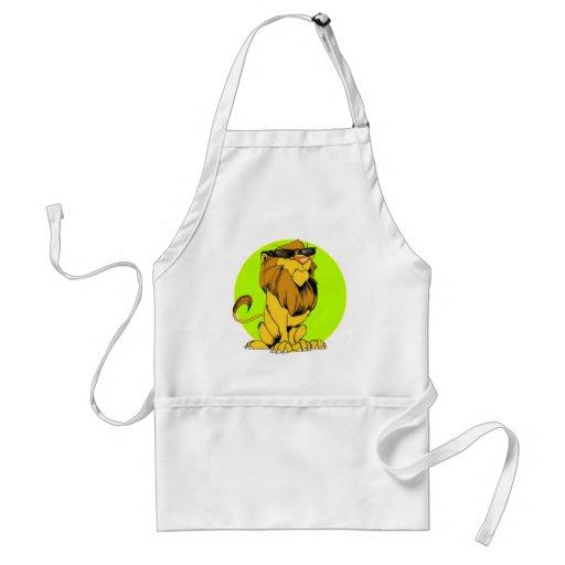Extra Cranky Lion Aprons