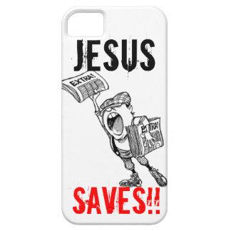 Extra, extra! Jesus Saves!! iPhone 5 Case