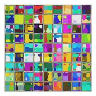 Extra Large Coloful Custom Art Posters and Prints