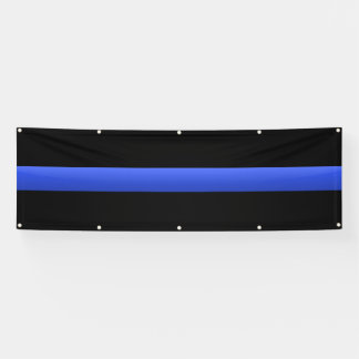 Extra Large Thin Blue Line Banner