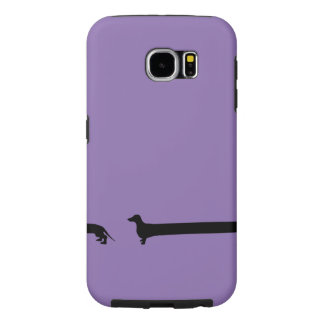 Extra Long Dachshund Samsung Galaxy S6 Cases
