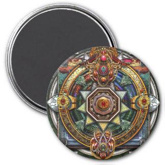 Extraordinary Celtic Mandala 7.5 Cm Round Magnet