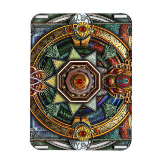 Extraordinary Celtic Mandala Rectangular Photo Magnet