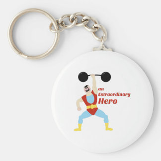 Extraordinary Hero Key Chains