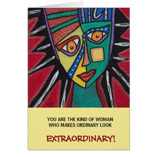 Extraordinary  Inspirational Greeting Card