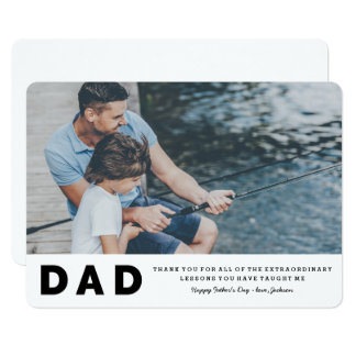 Extraordinary Lessons Father's Day Card