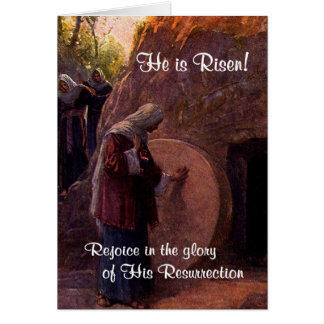 Extraordinary Mary Magdalene & Jesus'  Empty Tomb Card