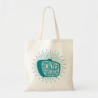 Extraordinary People Have Libraries Not TVs Bag