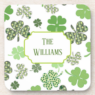 Extraordinary Shamrock Coaster