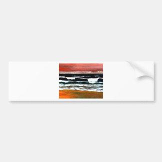 Extraordinary Sunset - CricketDiane Ocean Art Bumper Sticker
