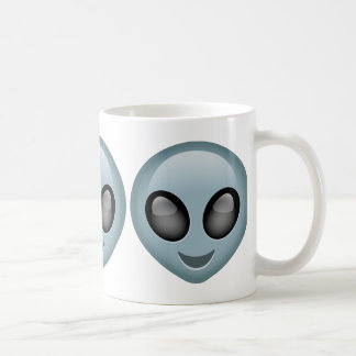 Extraterrestrial Alien Emoji Coffee Mug